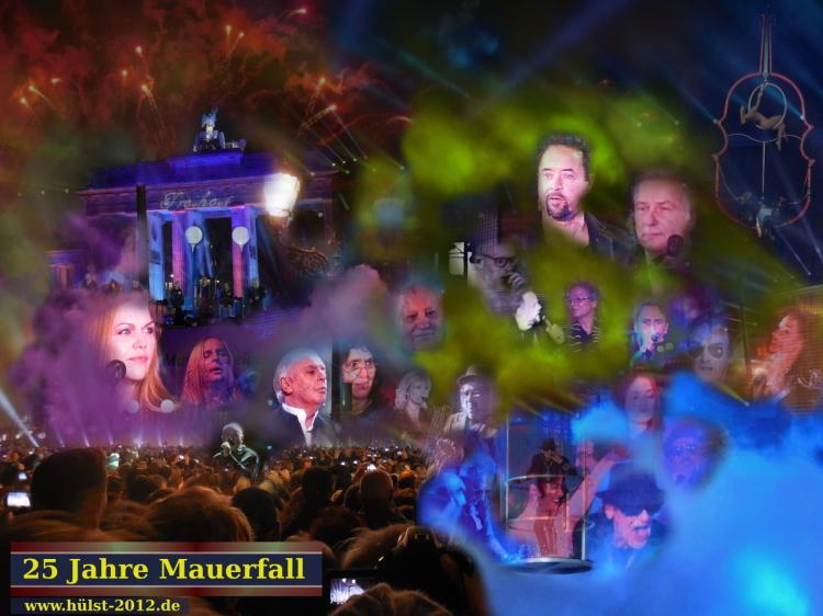 Ein Bürgerfest. 25 Jahre Mauerfall in Berlin. Mit dabei waren: Silly, Die Fantastischen Vier, Udo Lindenberg, Daniel Barenboim, Peter Gabriel, Jan Josef Liefers, Freya Klier, Clueso...